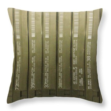 Vhs Throw Pillow by Anna Villarreal Garbis