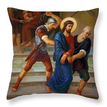 Rosaries Throw Pillows