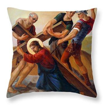Redeemer Throw Pillows
