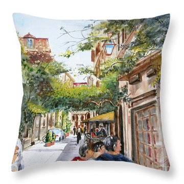 via Margutta Throw Pillow