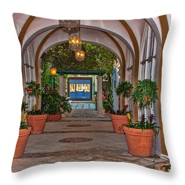 Via One Throw Pillow