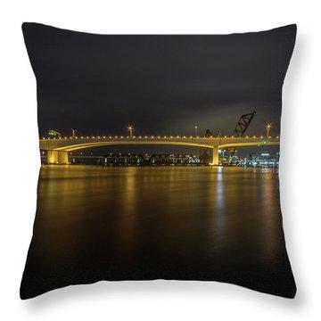 Viaduct Throw Pillow
