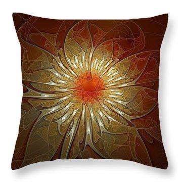Vibrance Throw Pillow by Amanda Moore