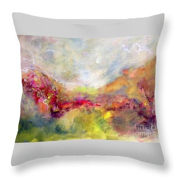 Vibrancy Throw Pillow by Gail Butters Cohen
