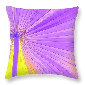 Palm Frond Throw Pillows