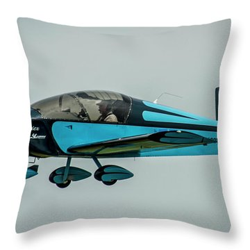 Vic Vicari Revised Throw Pillow