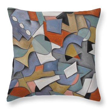 Vicissitude Throw Pillow