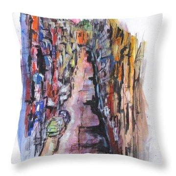 Vicolo De Napoli Throw Pillow
