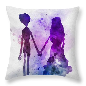 Victor And Emily Throw Pillow