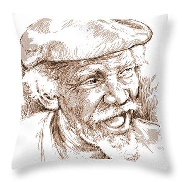 Victor Boa Throw Pillow