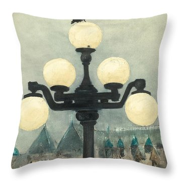 Victoria Evening Throw Pillow