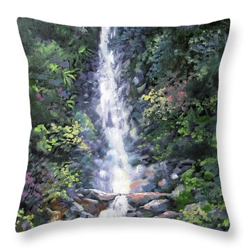 Trafalger Falls Throw Pillow