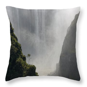 Victoria Falls No. 2 Throw Pillow