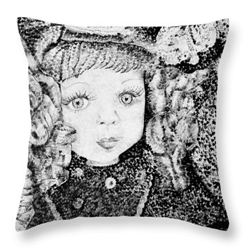 Victoria Throw Pillow by Jane Autry