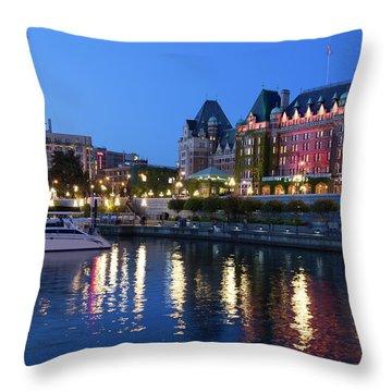 Victoria Lights Throw Pillow