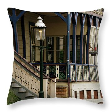 Victorian Cape May Throw Pillow