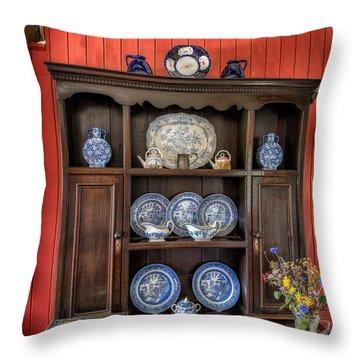 Victorian Dresser  Throw Pillow