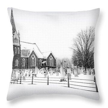 Victorian Gothic Throw Pillow