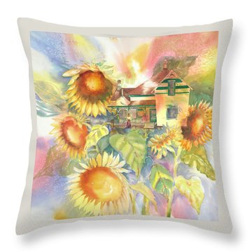 A Home Of My Own, 1905 Throw Pillow