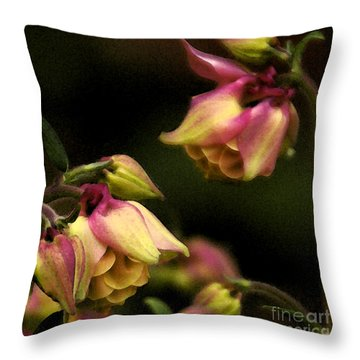 Victorian Romance Throw Pillow