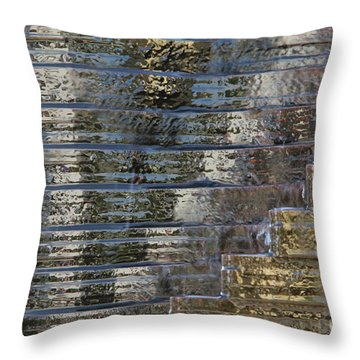 Victory - Water Is Life Throw Pillow by Agnieszka Ledwon