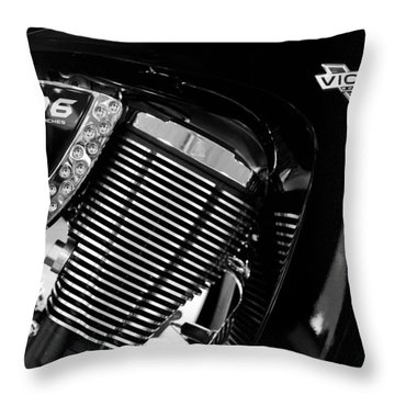 Victory Bw V1 Throw Pillow
