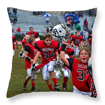Victory Dance 001 Throw Pillow