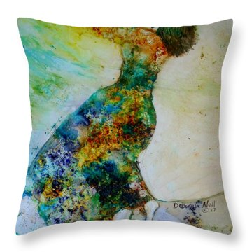 Victory Dance Throw Pillow