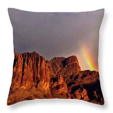 Victory In The Storm Throw Pillow