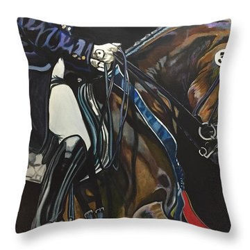 Victory Ride Throw Pillow