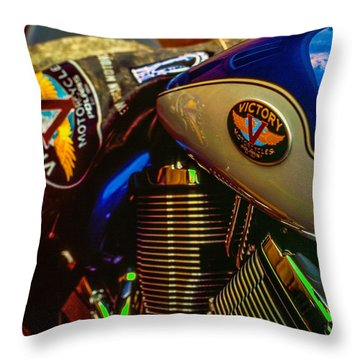 Throw Pillow featuring the photograph Victory by Samuel M Purvis III