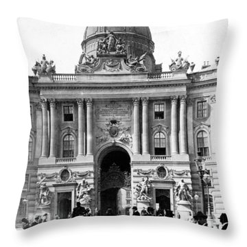 Vienna Austria - Imperial Palace - C 1902 Throw Pillow by International  Images