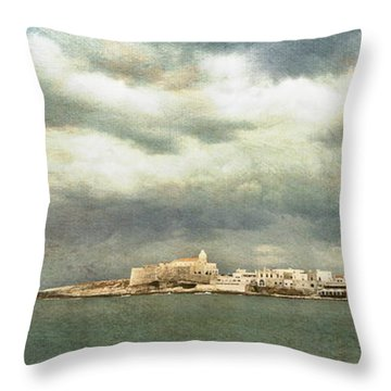 Vieste  - Gargano Throw Pillow