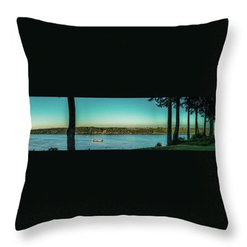 View From 11th Ave. Throw Pillow