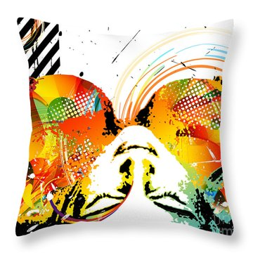View From Above Throw Pillow by Chris Andruskiewicz