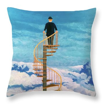 View From Above Throw Pillow