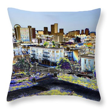 View From Alta Park Throw Pillow