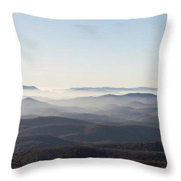 View From Blood Mountain Throw Pillow
