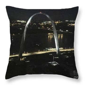 View From Higher Up Throw Pillow