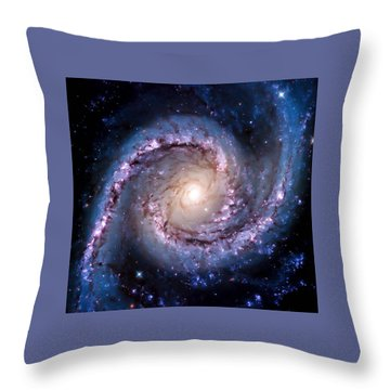 View From Hubble Throw Pillow