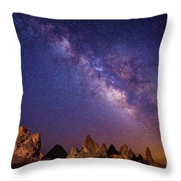 View From Mars Throw Pillow