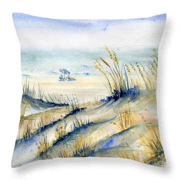 View From Marty's Playland Ocmd Throw Pillow