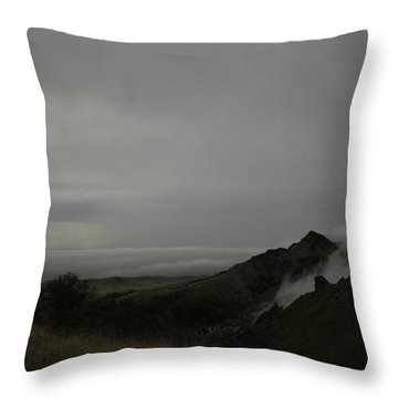 View From Sutter Buttes Throw Pillow