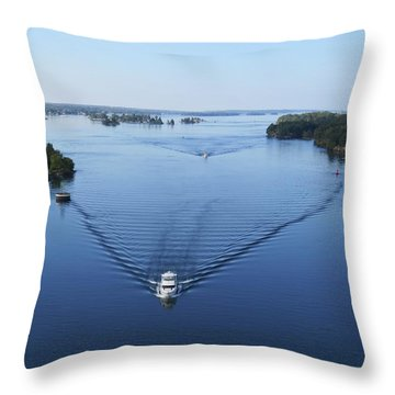 View From The Bridge Throw Pillow