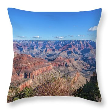 Throw Pillow featuring the photograph View From The South Rim by John M Bailey