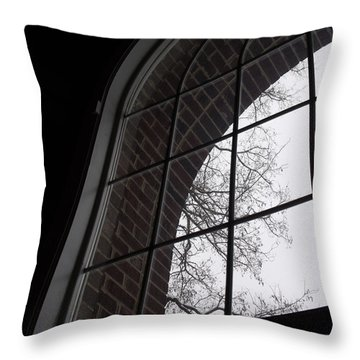 View From The Window Throw Pillow by Anna Villarreal Garbis