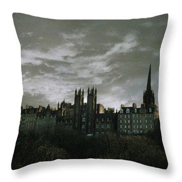 view of Edinburgh Throw Pillow