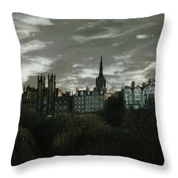 view of Edinburgh II Throw Pillow