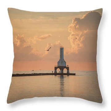 View Of Heaven Throw Pillow
