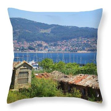 View Of Meira Throw Pillow